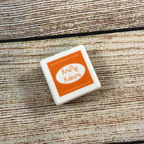 ***NEW*** Tempting Tangerine Ink Cube! - Kraftin' Kimmie