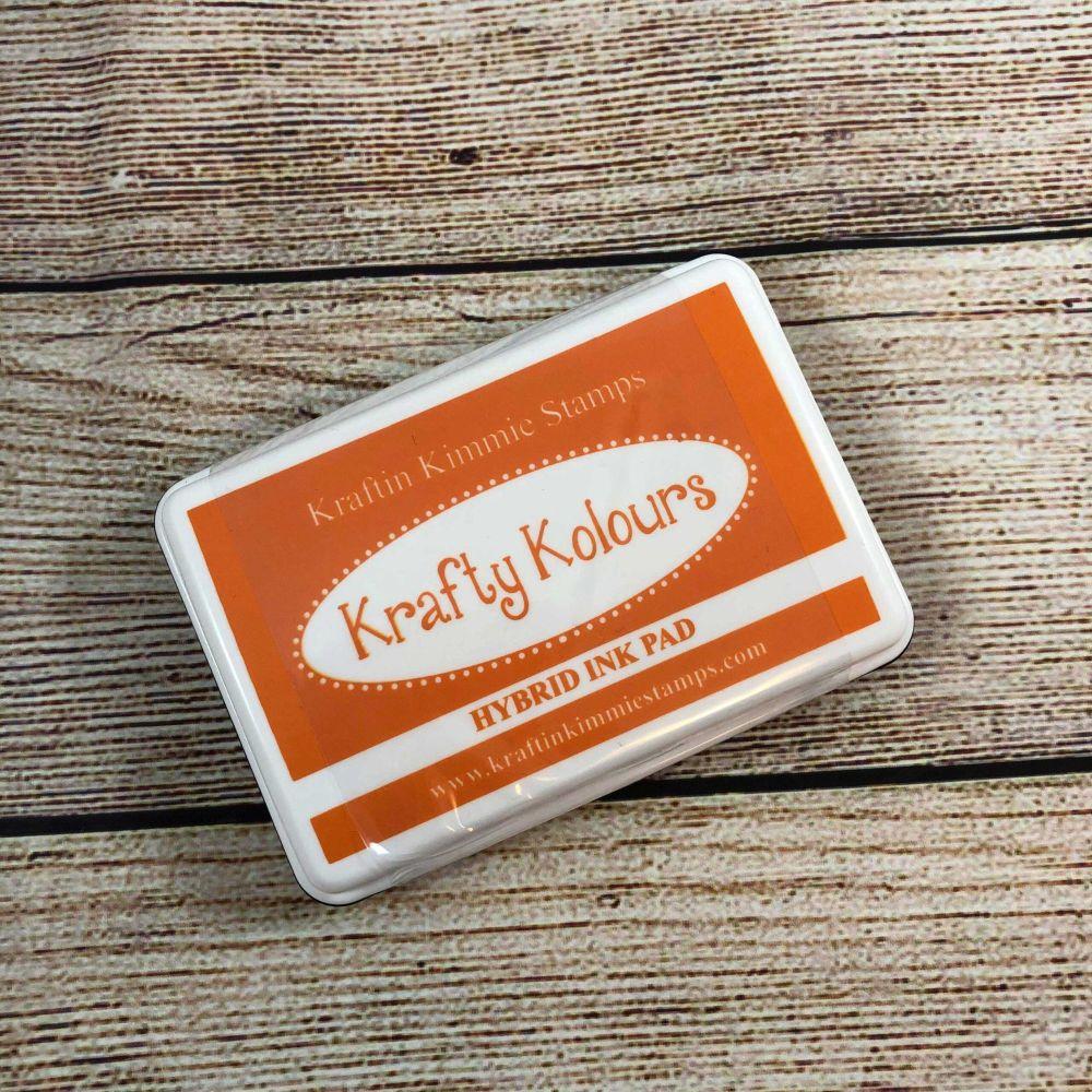 **NEW** Tempting Tangerine Ink Pad! - Kraftin' Kimmie
