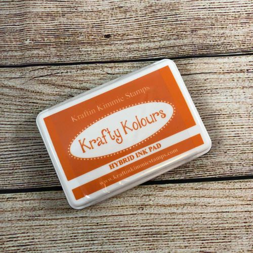 **NEW** Tempting Tangerine Ink Pad! - Kraftin' Kimmie