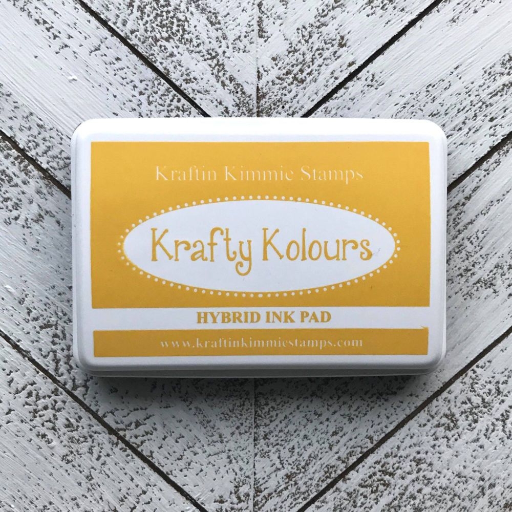 Yummy Yellow Ink Pad! - Kraftin' Kimmie