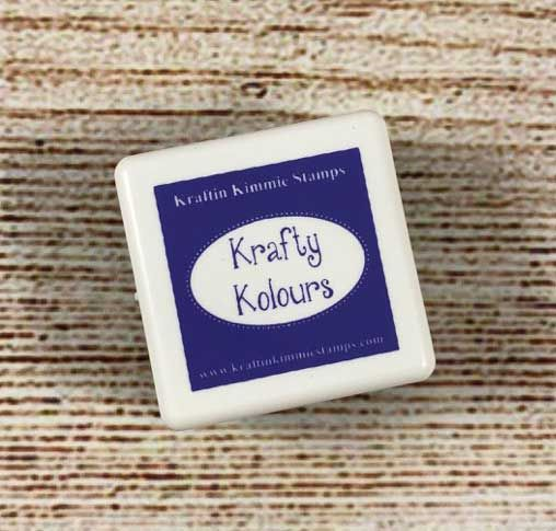 Whimsical Wisteria Mini Ink Cube! - Kraftin' Kimmie