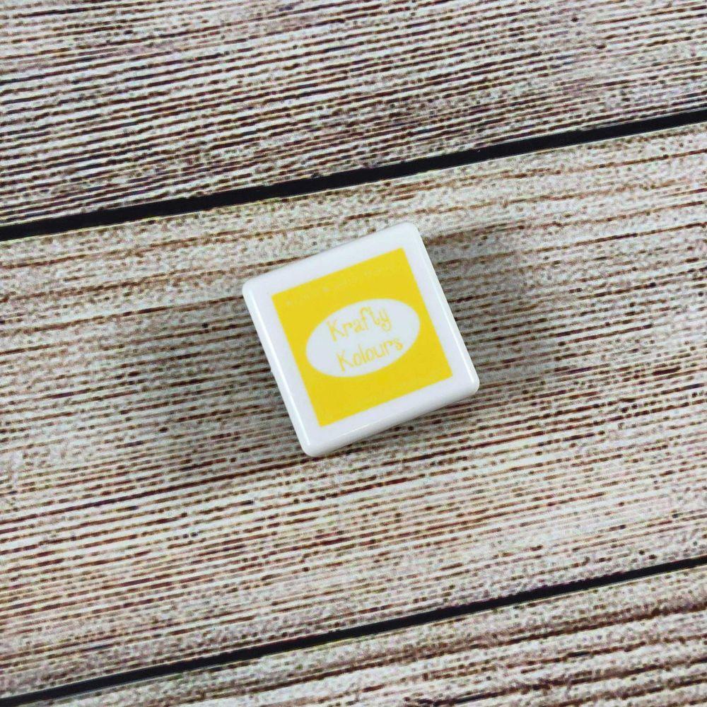 Summer Sunshine Mini Ink Cube! - Kraftin' Kimmie