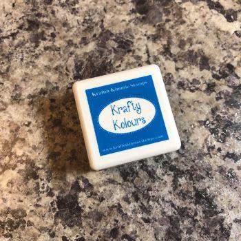 Sparkling Sapphire Mini Ink Cube! - Kraftin' Kimmie
