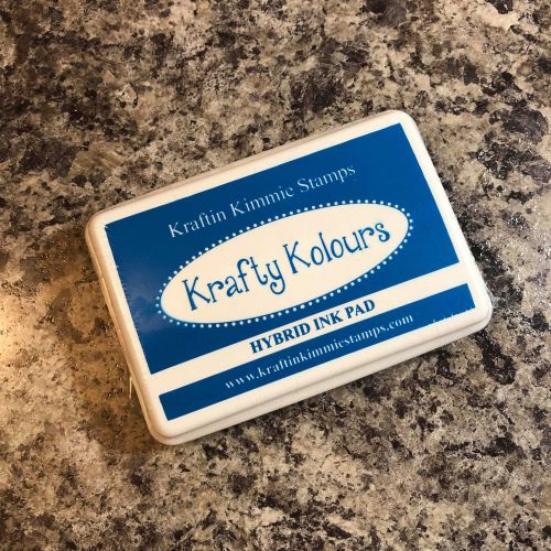 Sparkling Sapphire Ink Pad! - Kraftin' Kimmie