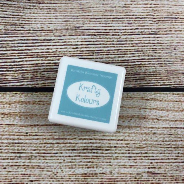 Salty Sea Mini Ink Cube! - Kraftin' Kimmie