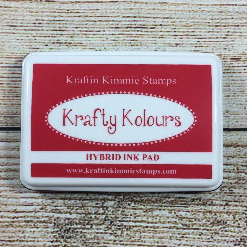 Ruby Red Ink Pad! - Kraftin' Kimmie