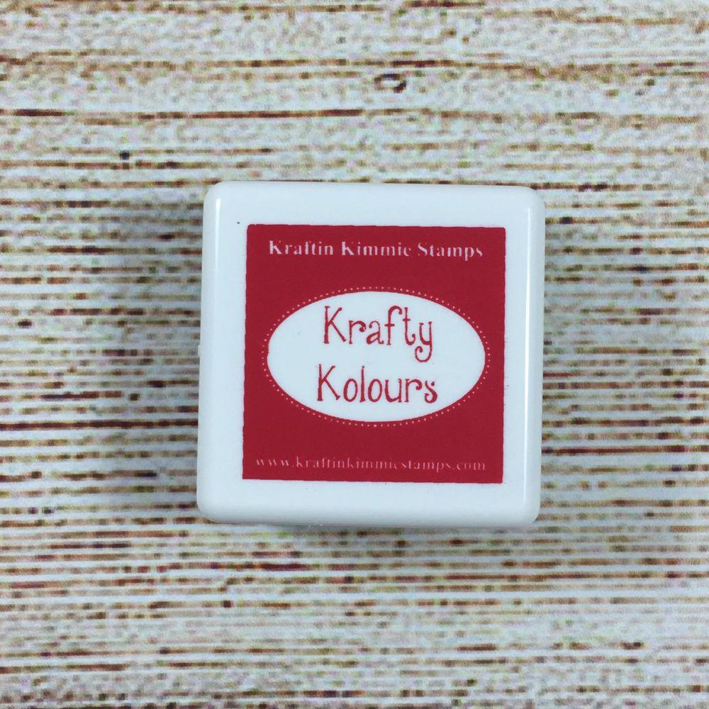 Ruby Red Mini Ink Cube! - Kraftin' Kimmie