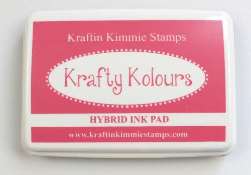 Raspberry Rose Ink Pad! - Kraftin' Kimmie