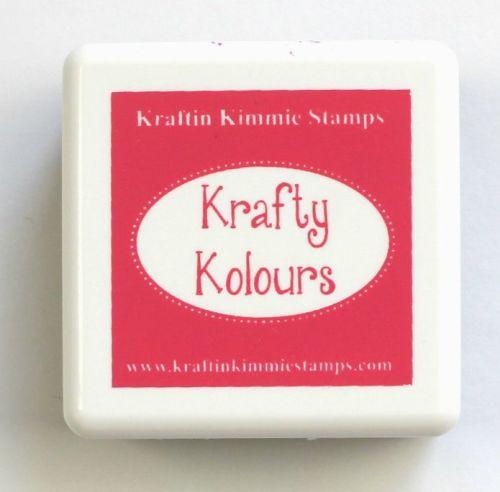 Raspberry Rose Mini Ink Cube! - Kraftin' Kimmie