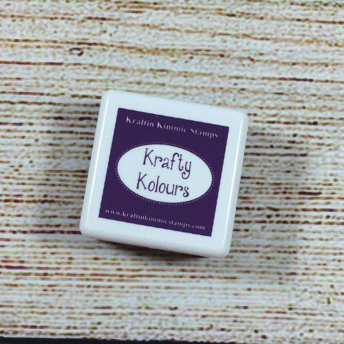 Purple Petunia Mini Ink Cube! - Kraftin' Kimmie