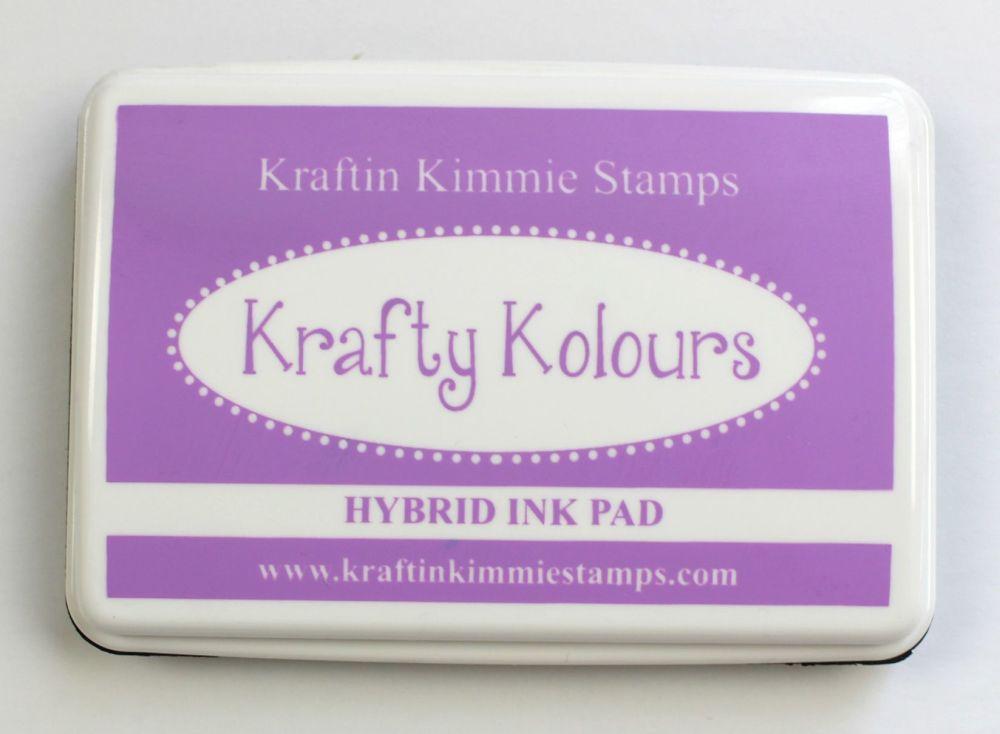 Purple Pansy Ink Pad! - Kraftin' Kimmie