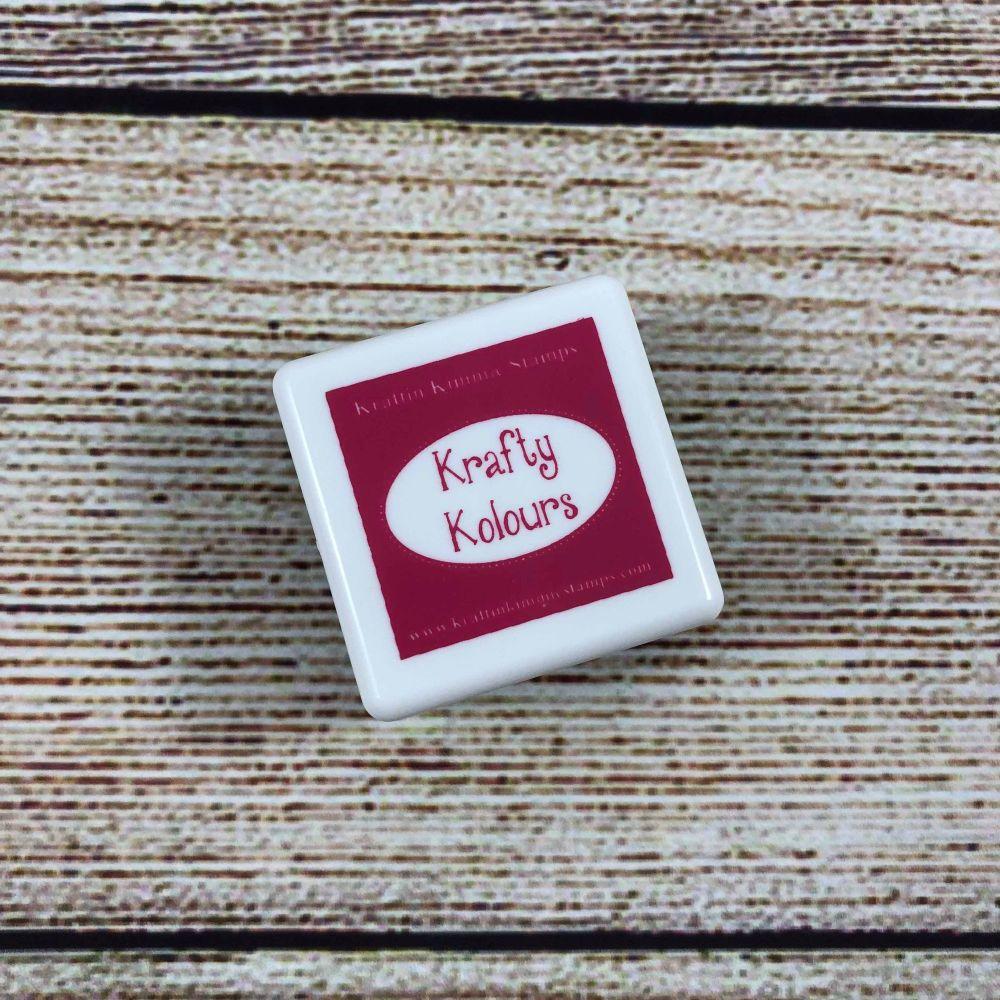 Pink Pizzazz Mini Ink Cube! - Kraftin' Kimmie