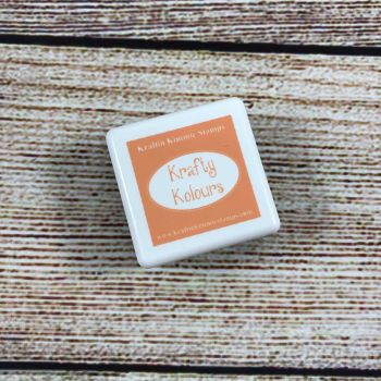 Party Peach Mini Ink Cube! - Kraftin' Kimmie