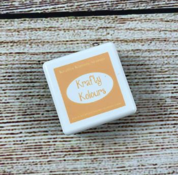 Morning Marigold Mini Ink Cube! - Kraftin' Kimmie