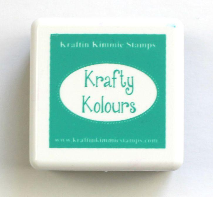 Lovely Lagoon Mini Ink Cube! - Kraftin' Kimmie