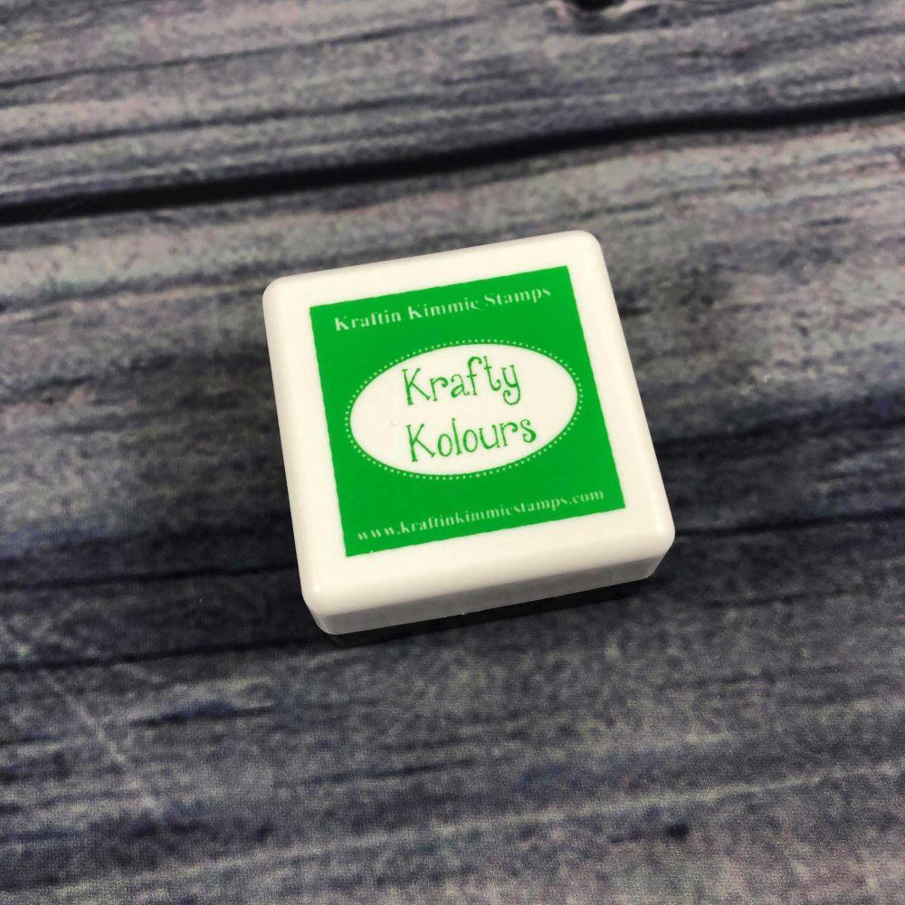 Goblin Green Mini Ink Cube! - Kraftin' Kimmie