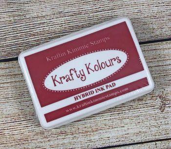 Crisp Crimson Ink Pad! - Kraftin' Kimmie