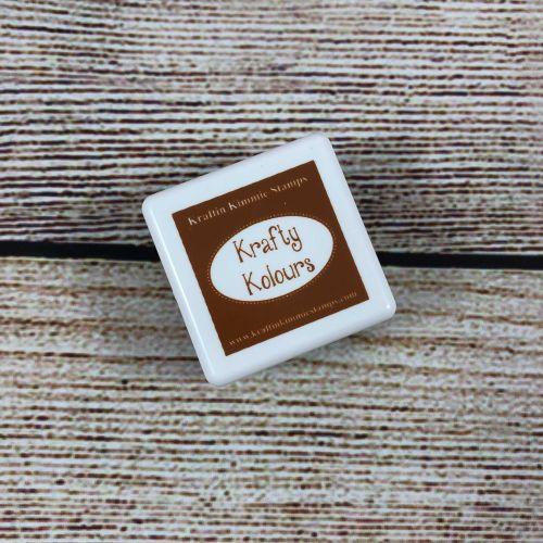 Creamy Caramel Mini Ink Cube! - Kraftin' Kimmie