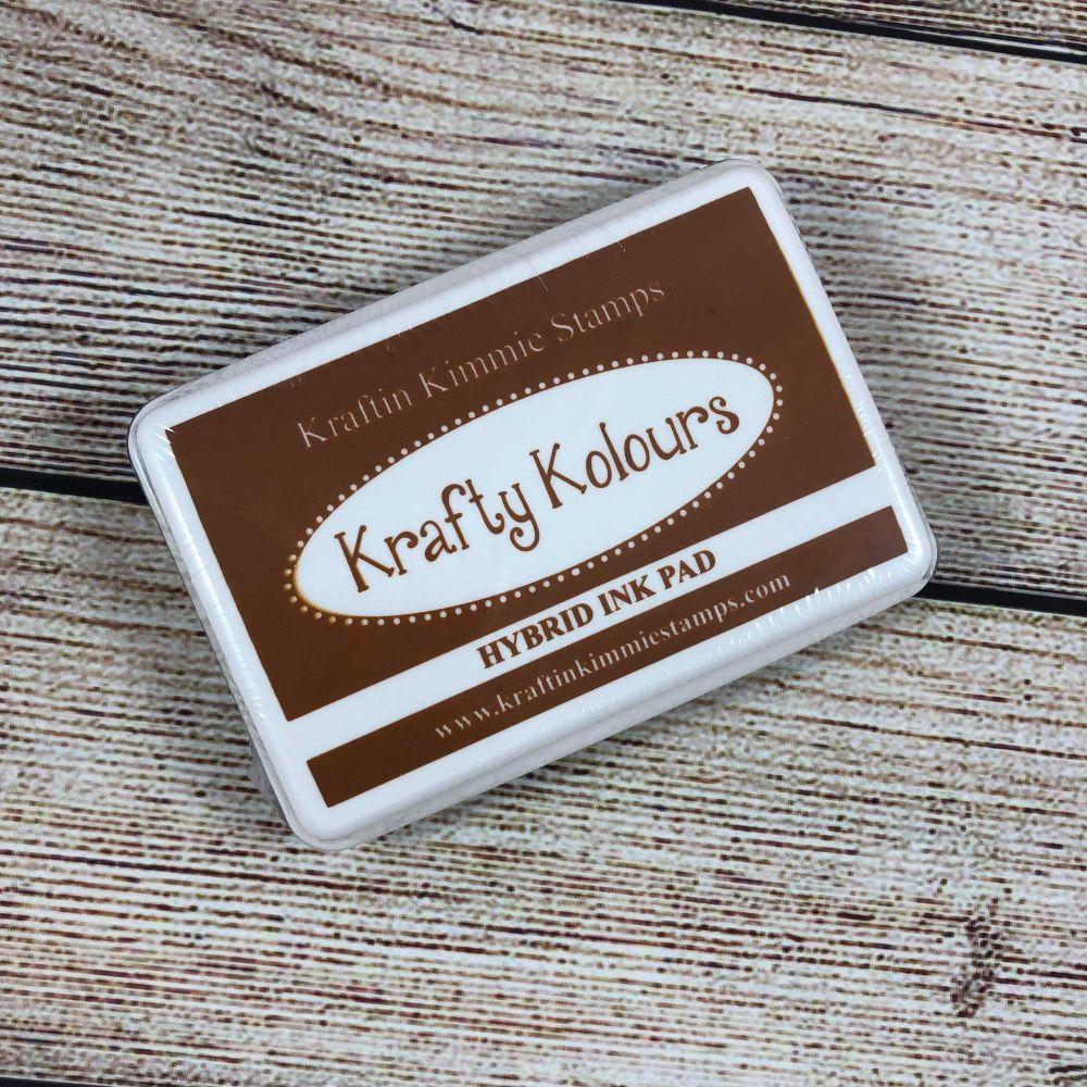 Creamy Caramel Ink Pad! - Kraftin' Kimmie