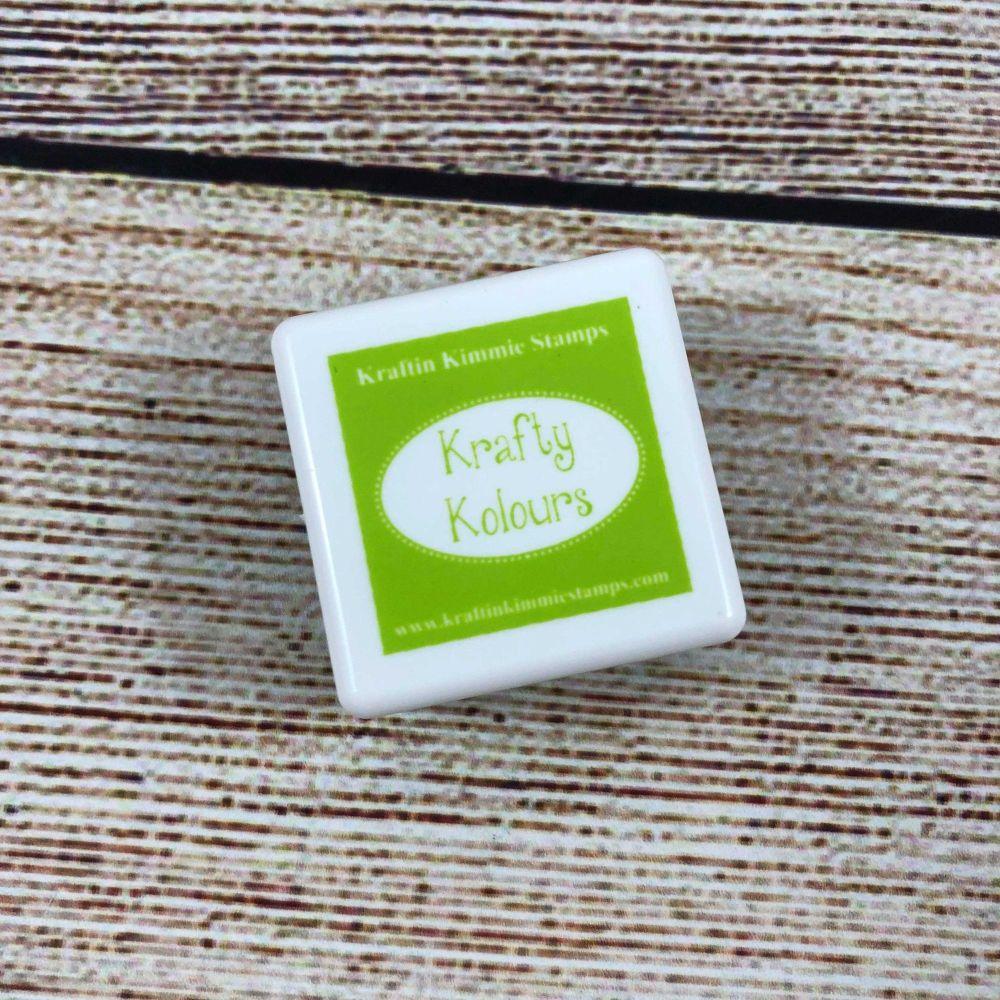 Charming Chartreuse Mini Ink Cube! - Kraftin' Kimmie