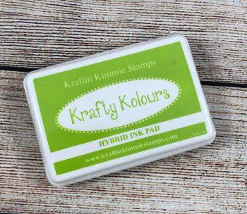 Charming Chartreuse Ink Pad! - Kraftin' Kimmie
