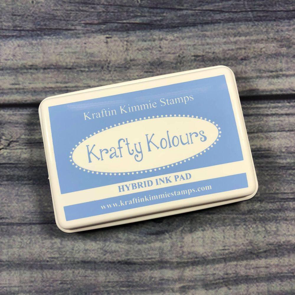 Bubbly Blue Ink Pad! - Kraftin' Kimmie