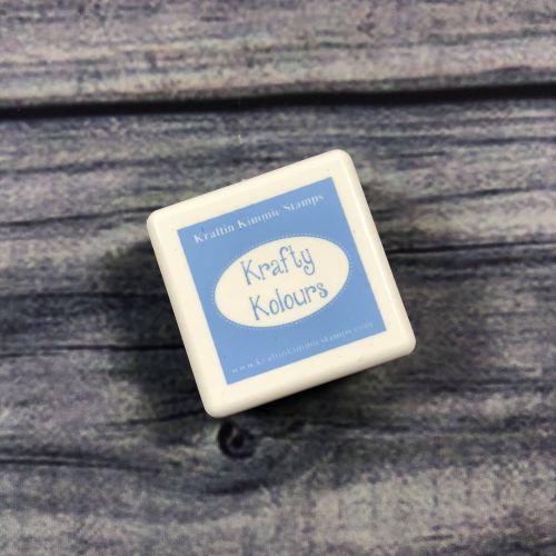 Bubbly Blue Mini Ink Cube! - Kraftin' Kimmie