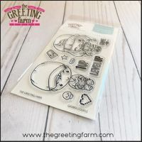 Gamer couple clear stamp set - The Greeting Farm