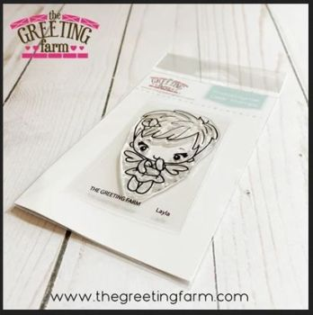 Layla Fairy Bean clear stamp set - The Greeting Farm