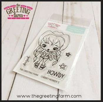 Cheeky Howdy 2 clear stamp set - The Greeting Farm