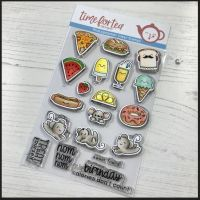 Time For Tea - Treat yourself clear stamp set