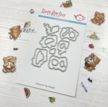 **NEW** Time For Tea - Bears Picnic die set