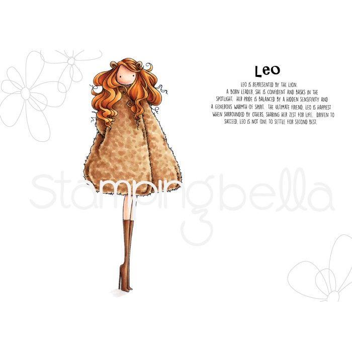 Stamping Bella - uptown zodiac girl Leo