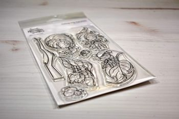 ****NEW****Sweet November - Falling into Fairwees Clear stamp set