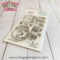 Nice couple clear stamp set - The Greeting Farm