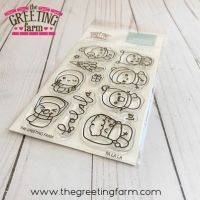 Fa La La  clear stamp set - The Greeting Farm