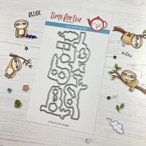 ***NEW*** Time For Tea - Be slothy die set