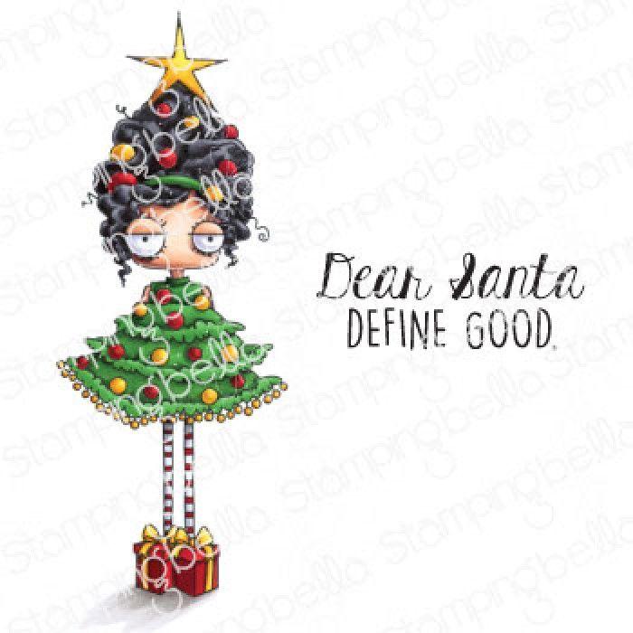 ***NEW*** Stamping Bella - CHRISTMAS TREE ODDBALL