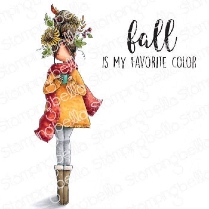 ***NEW*** Stamping Bella - CURVY GIRL LOVES AUTUMN