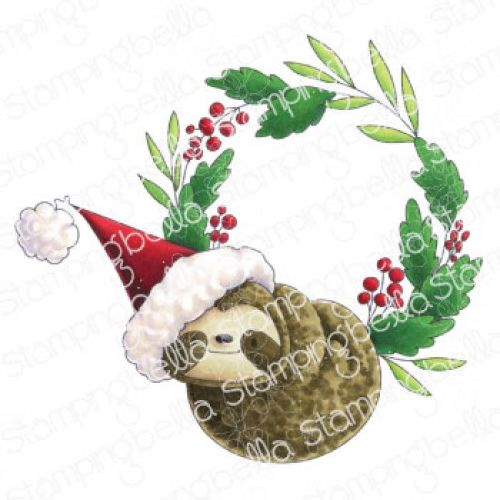 ***NEW*** Stamping Bella - SLOTH WREATH