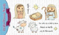 Kraftin' Kimmie - O Holy Night clear stamp set