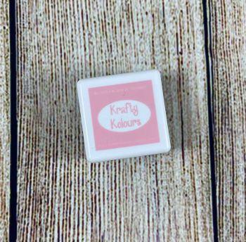 Precious Pink Mini Ink Cube! - Kraftin' Kimmie