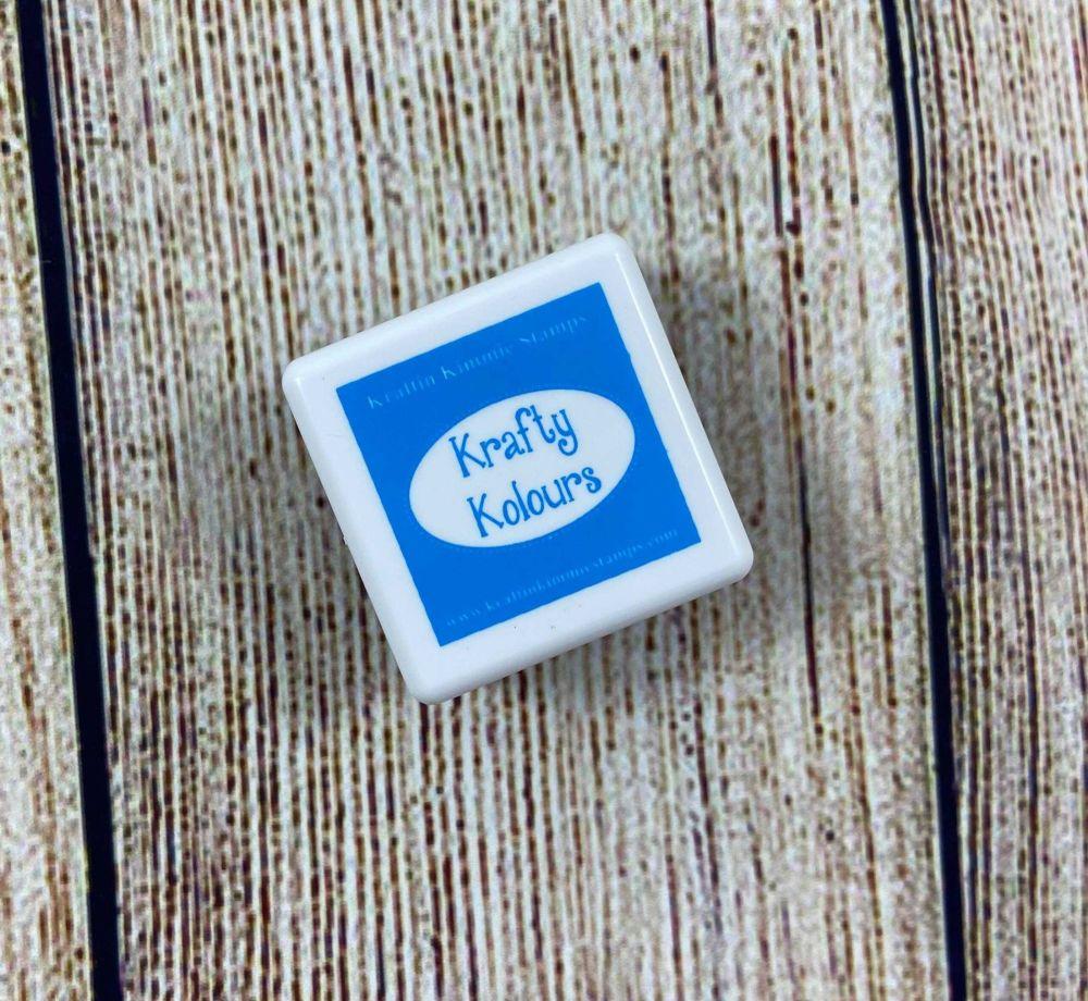 ***NEW*** Amazing Azure Mini Ink Cube! - Kraftin' Kimmie