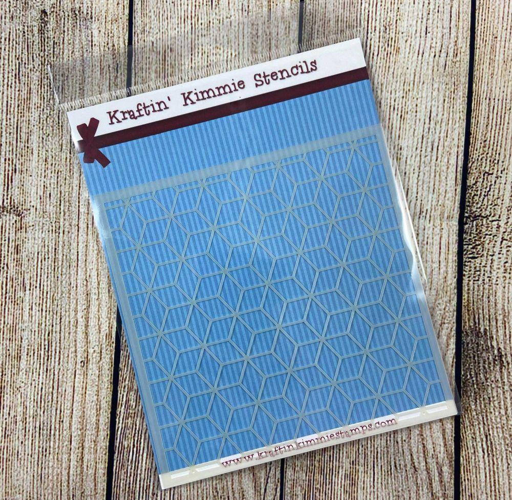 ***NEW*** Magical Mosaic Stencil! - Kraftin' Kimmie