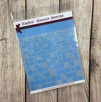 **NEW** So Many Squares Stencil! - Kraftin' Kimmie