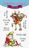 Kraftin' Kimmie - Believe in Your ELF! clear stamp set
