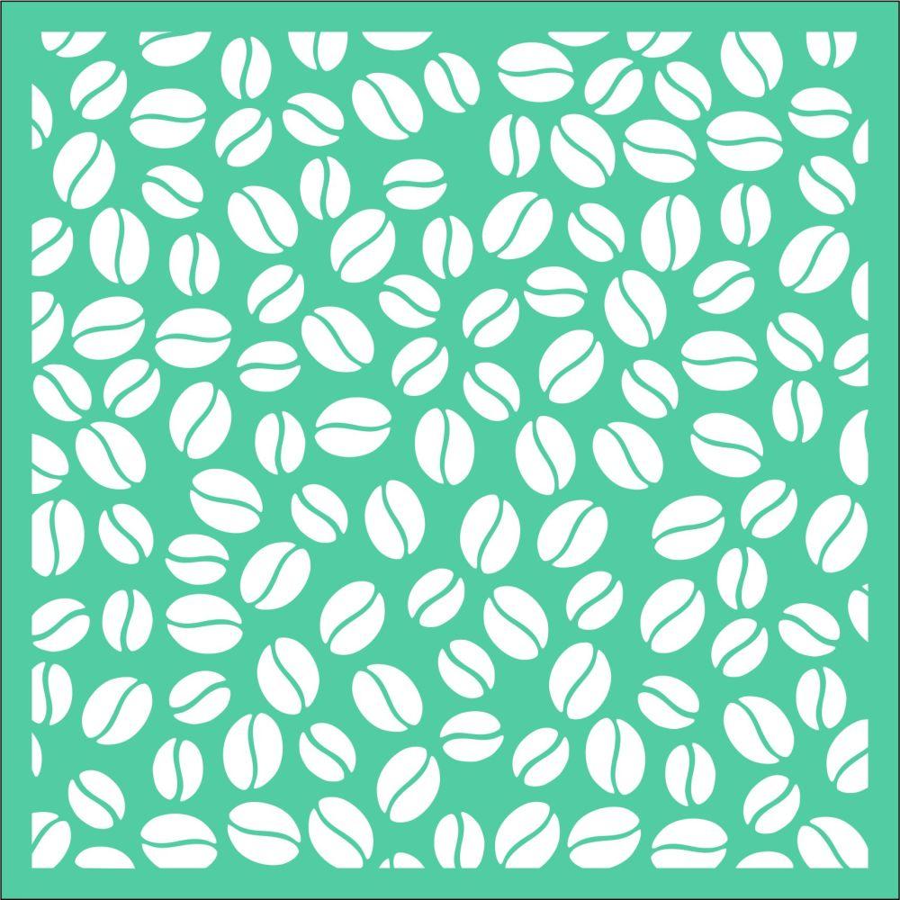Lotsa beans Stencil - Funky Fossil