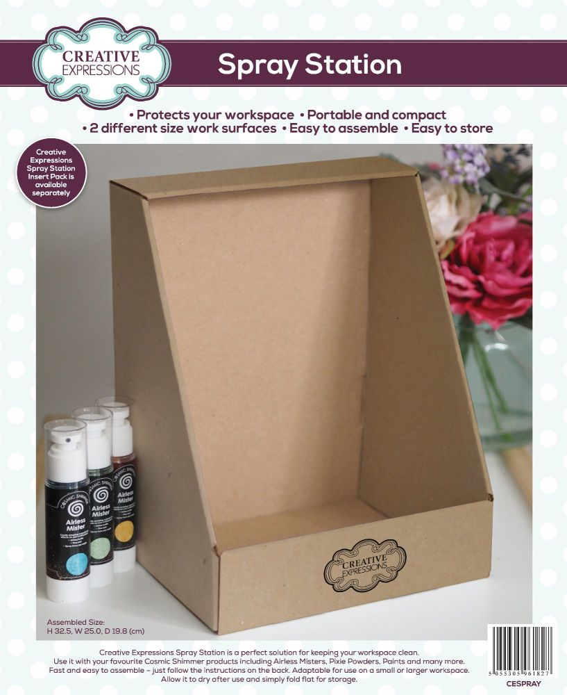 Spray Station - Creative Expressions