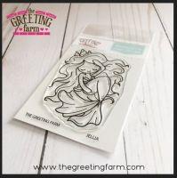 Jellia Mermaid clear stamp set - The Greeting Farm