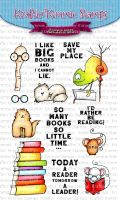 Kraftin' Kimmie - Save My Place! clear stamp set